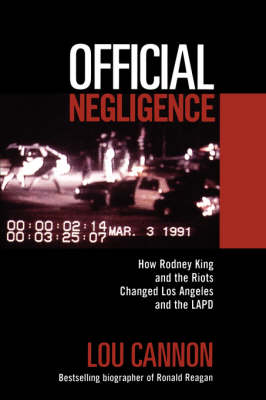 Official Negligence book