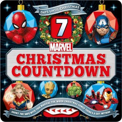MARVEL COUNTDOWN CHRISTMAS TIN book