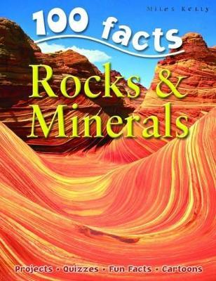 100 Facts - Rocks & Minerals book