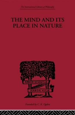 Mind and its Place in Nature book