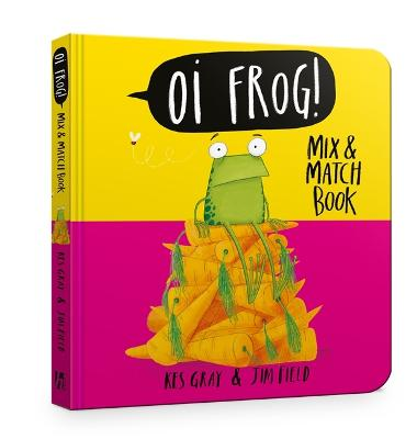 Oi Frog! Mix & Match Book by Kes Gray
