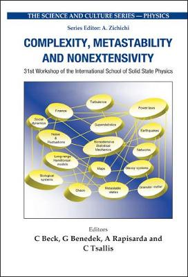 Complexity, Metastability And Nonextensivity - Proceedings Of The 31st Workshop Of The International School Of Solid State Physics by Christian Beck