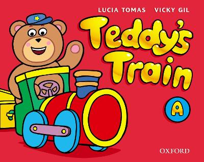 Teddy's Train: Activity Book A by Lucia Tomas