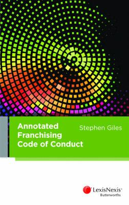 Annotated Franchising Code of Conduct book
