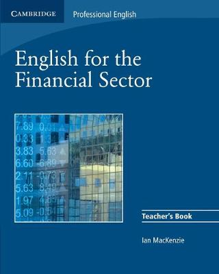English for the Financial Sector Teacher's Book book
