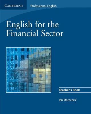 English for the Financial Sector Teacher's Book book