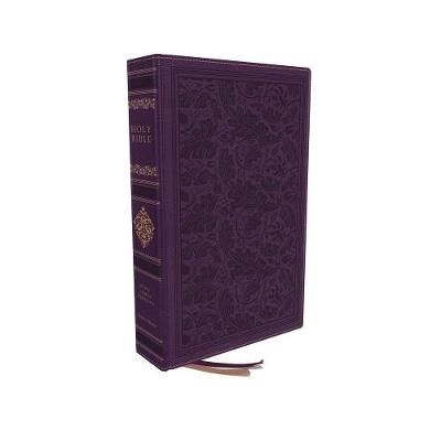 KJV, Personal Size Reference Bible, Sovereign Collection, Leathersoft, Purple, Red Letter, Thumb Indexed, Comfort Print: Holy Bible, King James Version by Thomas Nelson