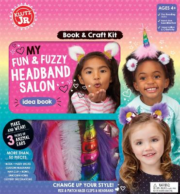 My Fun & Fuzzy Headband Salon by Editors of Klutz