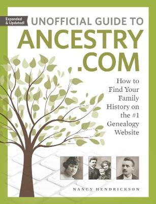 Unofficial Guide to Ancestry.com book