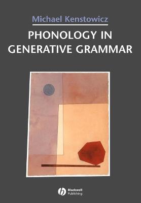 Phonology in Generative Grammar book