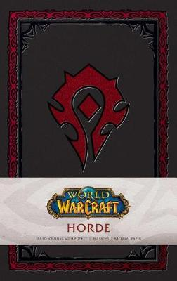World of Warcraft: Horde Hardcover Ruled Journal. Redesign by Insight Editions