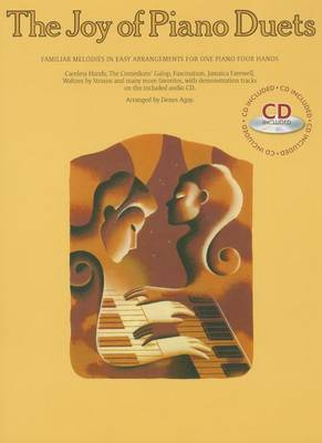 The Joy Of Piano Duets (With CD) by Denes Agay