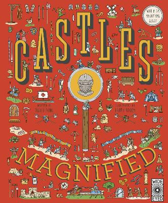 Castles Magnified: With a 3x Magnifying Glass! by Harry Bloom