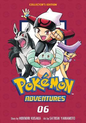 Pokemon Adventures Collector's Edition, Vol. 6 book