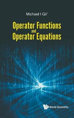 Operator Functions And Operator Equations by Michael Gil