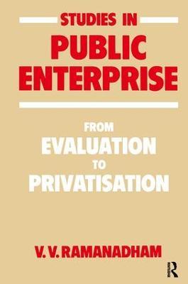 Studies in Public Enterprise book