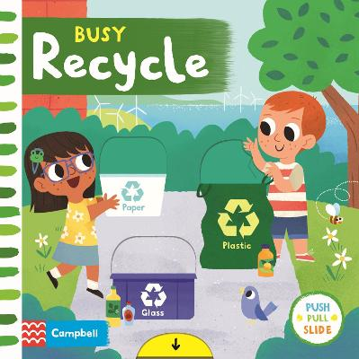 Busy Recycle book