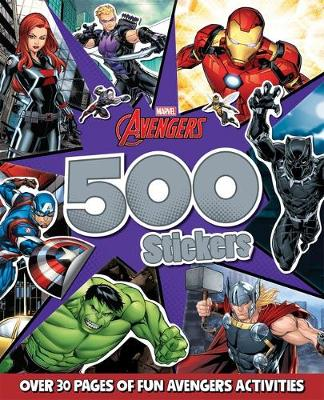 AVENGERS 500 STICKERS book