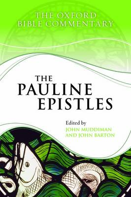 The Pauline Epistles by John Muddiman