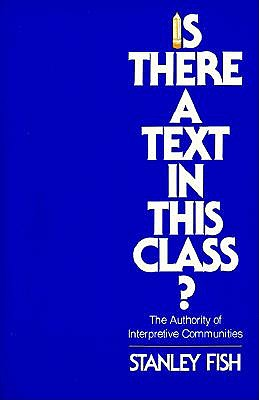 Is There a Text in This Class? book