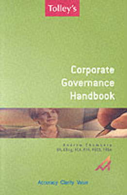 Tolley's Corporate Governance Handbook by Andrew Chambers