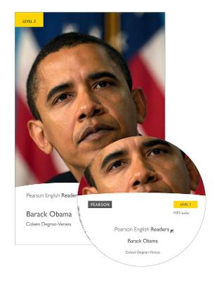 Level 2: Barack Obama Book and MP3 Pack by Coleen Degnan-Veness