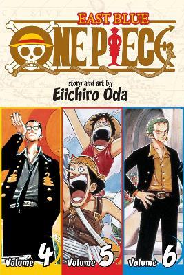 One Piece:  East Blue 4-5-6, Vol. 2 (Omnibus Edition) by Eiichiro Oda