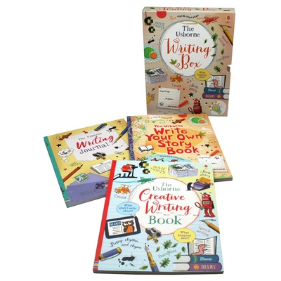 The Usborne Writing Box book