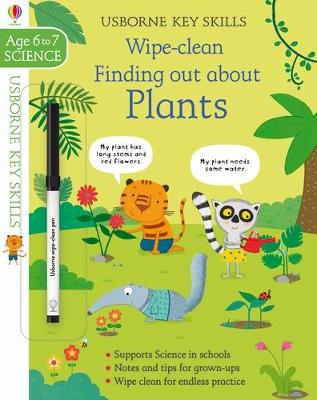 Wipe-Clean Finding Out About Plants 6-7 book
