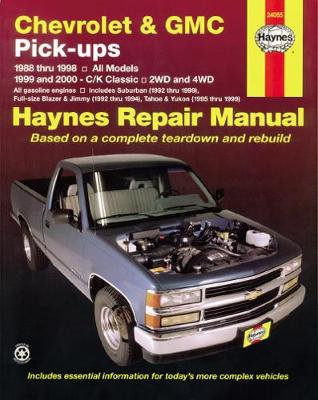 Chevrolet and GMC Pick-ups by Haynes