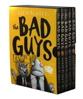 Bad Guys Badder Box Episodes 1-5 by Aaron Blabey