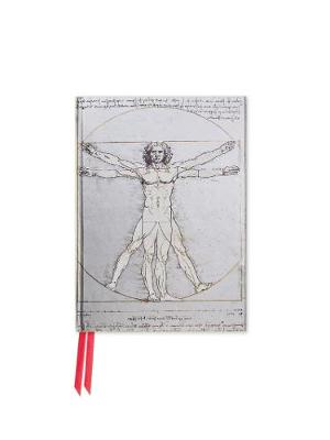 Da Vinci: Vitruvian Man (Foiled Pocket Journal) book