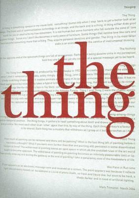 Thing by Mark Titmarsh
