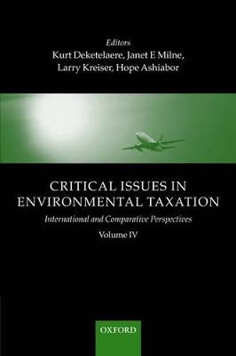 Critical Issues in Environmental Taxation book