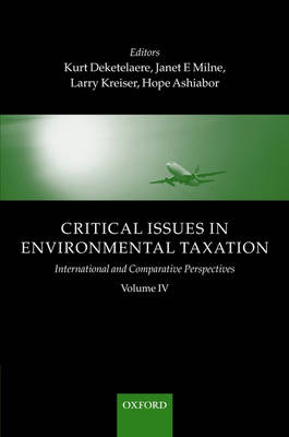 Critical Issues in Environmental Taxation book