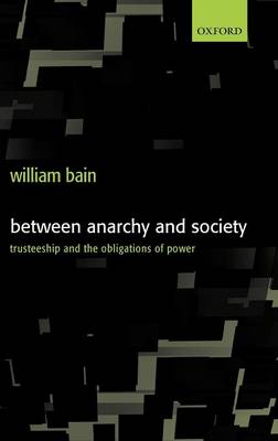 Between Anarchy and Society book