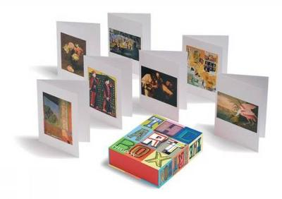 The Art Box Greeting Cards (Red Selection) by Phaidon