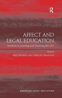 Affect and Legal Education by Caroline Maughan
