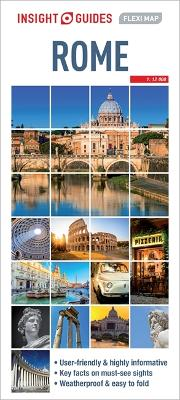 Insight Guides Flexi Map Rome book