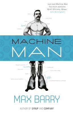 Machine Man book