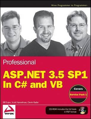 Professional ASP.NET 3.5 SP1 Edition by Bill Evjen