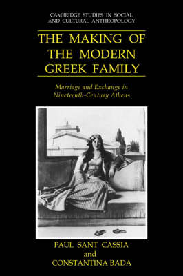 Making of the Modern Greek Family book