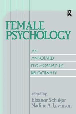 Female Psychology by Eleanor Schuker