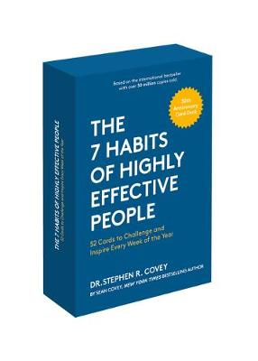 The 7 Habits of Highly Effective People: 30th Anniversary Card Deck by Stephen R. Covey