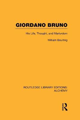Giordano Bruno by William Boulting