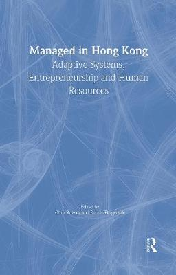 Managed in Hong Kong by Chris Rowley