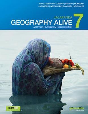 Jacaranda Geography Alive 7 Australian Curriculum 2E LearnON & Print book