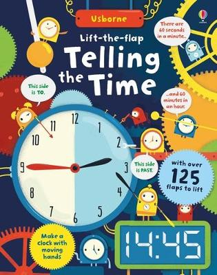 Lift-The-Flap Telling the Time book