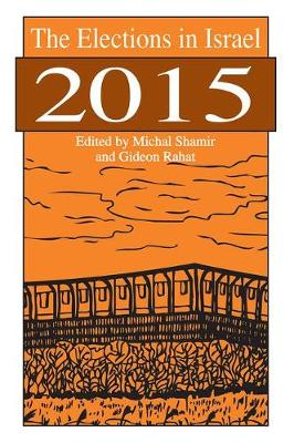Elections in Israel 2015 book