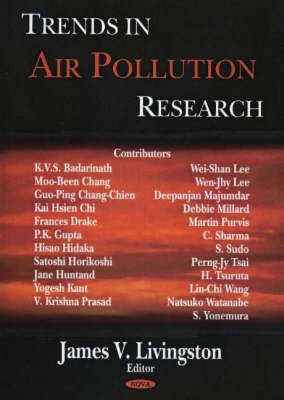 Trends in Air Pollution Research by James V. Livingston